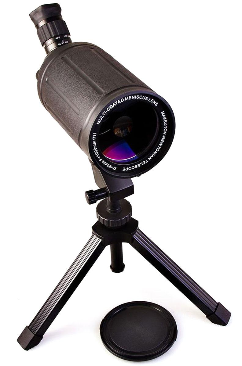 Veber MAK 1000х90, Black телескоп подзорный21165Телескоп подзорный Veber MAK 1000х90 имеет зеркально-линзовую конструкцию, построенную по классической схеме Максутова-Кассегрена. Эта зрительная труба и светосильная (диаметр 90 мм, она собирает на 65% света больше, чем аналогичные с диаметром 70 мм) и удивительно компактная (ее длина всего 300 мм). Влагозащищенное исполнение. Металлический прямой корпус покрыт толстой нескользящей резиной. Изображение четкое, резкое без окрашенности по краям. При зуммировании, для сохранения резкости, требуется легкая подфокусировка — совершенно необременительная для наблюдателя. Очень удобная система фокусировки. Барабанчик (расположен справа от окуляра), имеет два положения: 1- Выдвинут (для точной фокусировки на выбранный объект), 2- Задвинут (для быстрой фокусировки на выбранный объект), 3- Промежуточное положение (с трещоткой) — фокусировка исключена для предотвращения риска случайно сбить настройку. Все механические части окуляра, как и корпус,...