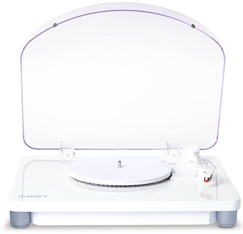 ION Audio Photon LP, White проигрыватель виниловых дисковIONphotonION Audio Photon LP поднимает музыкальный градус. Виниловый проигрыватель имеет многоцветную светодиодную подсветку для создания праздничной атмосферы, стильный белый корпус, функцию оцифровки и возможность подключения по USB к любому компьютеру.