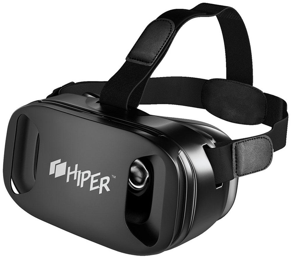 Hiper VRP очки виртуальной реальностиVRPПогрузиться в яркий искусственный мир теперь стало максимально просто с очками виртуальной реальности Hiper VRP. Стильный девайс с асферическими акриловыми линзами диаметром 42 мм обеспечивает четкую и насыщенную картинку с плавным движением при поворотах головы. Линзы поддерживают регулировку межфокусного расстояния. Угол обзора устройства равен 90 градусам. Очки виртуальной реальности совместимы со смартфонами на iOS и Android с дисплеем 4,3-6 дюймов. Оптимальным для очков является смартфон с размером экрана 5,5 дюймов по диагонали и с разрешением 1080 пикселей. Тип линз: асферические акриловые линзы. Угол обзора: 90 градусов Безопасная защелка для удержания телефона Регулируемый ремешок Регулировка фокусного расстояния Регулировка межфокусного расстояния
