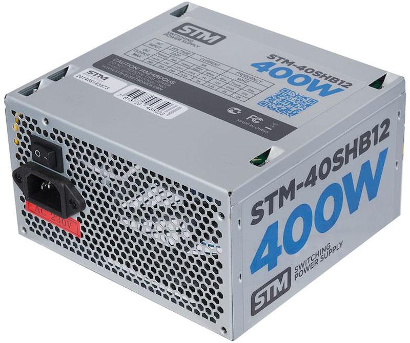 STM 40SHB12 блок питания для игрового компьютера1000205625Блок питания STM 40SHB12 обеспечит бесперебойную работу вашего компьютера. Он изготовлен с применением высококачественных материалов. Высокая производительность делает этот источник питания отличным выбором при сборке ПК. Выполненный из прочного металла, блок питания STM-40SHB12 оснащен мощным вентилятором для охлаждения. Его диаметр составляет 120 мм. Данный вентилятор обеспечивает превосходное охлаждения блока питания и отличается фактически полным отсутствием шума во время своей работы.