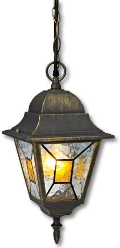 Светильник уличный Duwi Crespo, цвет: черное золото, 962 мм. 24082 224082 2Подвес - потолочный светильник на цепочке - один из четырех садово-парковых светильников популярной серии Креспо, выполненных в классическом дизайне. Корпус изготовлен из алюминиевого сплава.