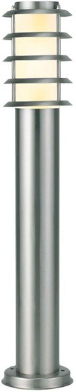 Светильник уличный Duwi Stelo, цвет: серый металлик, 650 мм. 25222 125222 1Наземный садово-парковый светильник столб-фонарь серии Stelo высотой 65 см. Плафон защищен декоративной решеткой. Светильники этой серии придадут дизайну вашего участка изысканную простоту и современность. Корпус светильников изготовлен из нержавеющей стали по современным технологиям. В состав серии Stelo входят также: бра с боковым креплением на стену и наземный столб-фонарь высотой 110 см.
