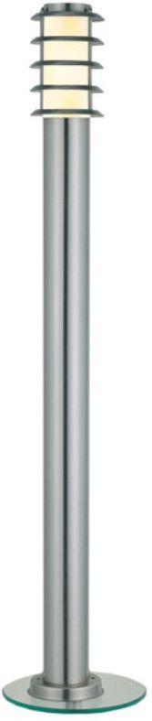 Светильник уличный Duwi Stelo, цвет: серый металлик, 1100 мм. 25224 525224 5Наземный садово-парковый светильник столб-фонарь серии Stelo высотой 110 см. Плафон защищен декоративной решеткой. Светильники этой серии придадут дизайну вашего участка изысканную простоту и современность. Корпус светильников изготовлен из нержавеющей стали по современным технологиям. В состав серии Stelo входят также: бра с боковым креплением на стену и наземный столбик высотой 65 см.