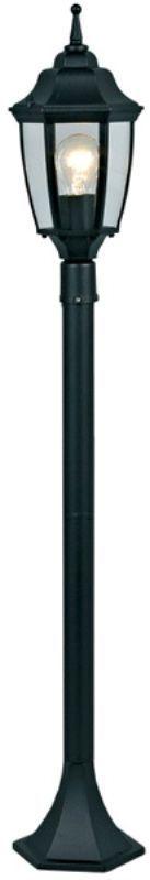 Светильник уличный 3в1 Duwi Sheffield, цвет: черный, 465-765-1075 мм. 25713 425713 4Наземный садово-парковый светильник столб-фонарь черного цвета серии Sheffield выполнен в средневековом стиле. Отличительная особенность - возможность сборки в трех размерах: 465/765/1075мм.