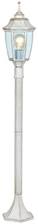 Светильник уличный 3в1 Duwi Sheffield, цвет: белое золото, 465-765-1075 мм. 25730 125730 1Садово-парковый наземный светильник столб-фонарь. серии Sheffield выполнен в средневековом стиле. Цвет: белый с золотом. Отличительная особенность - возможность сборки в трех размерах: 465/765/1075мм.