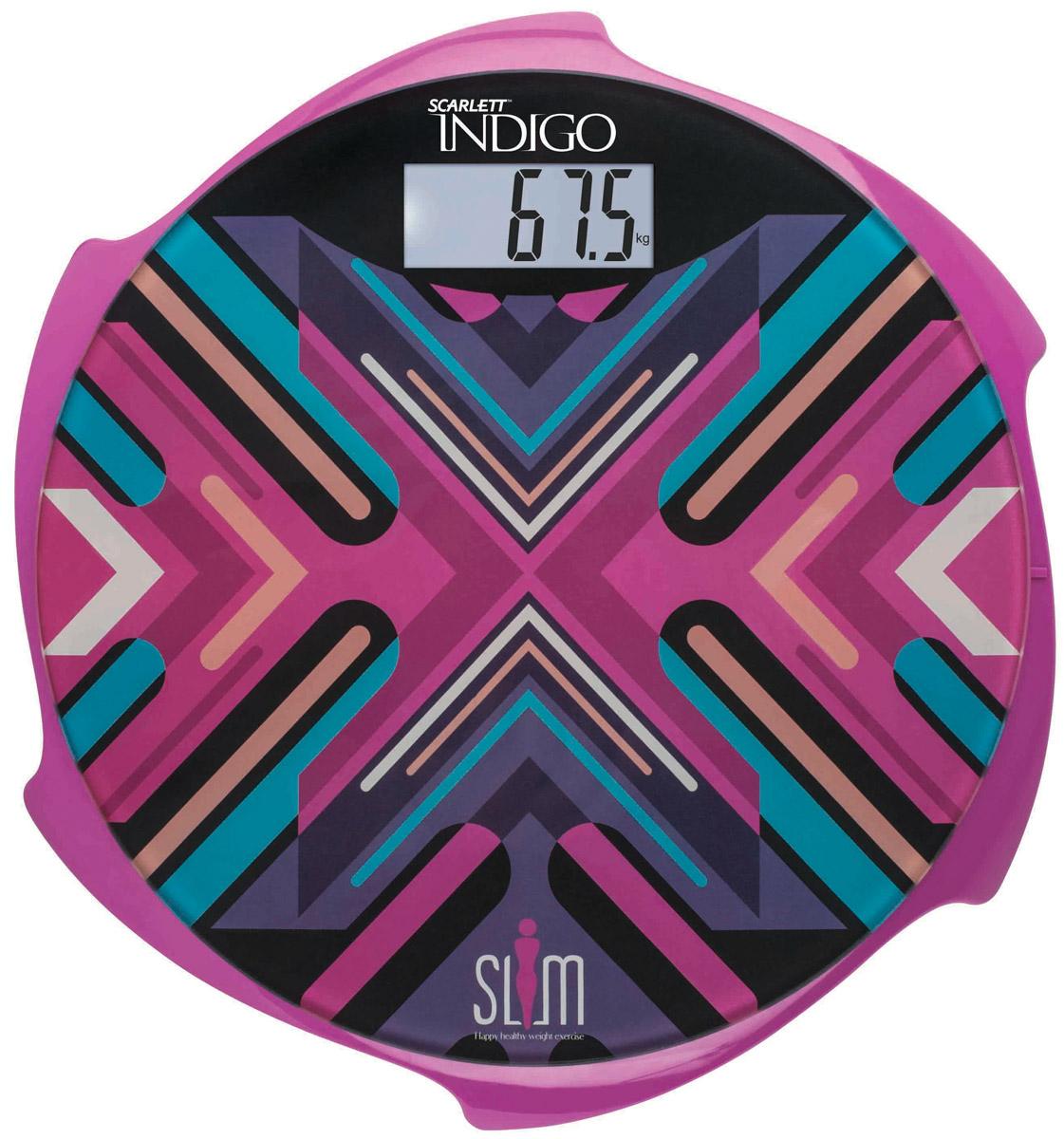 Scarlett IS-BS35E601 Indigo весы напольные электронныеIS-BS35E601