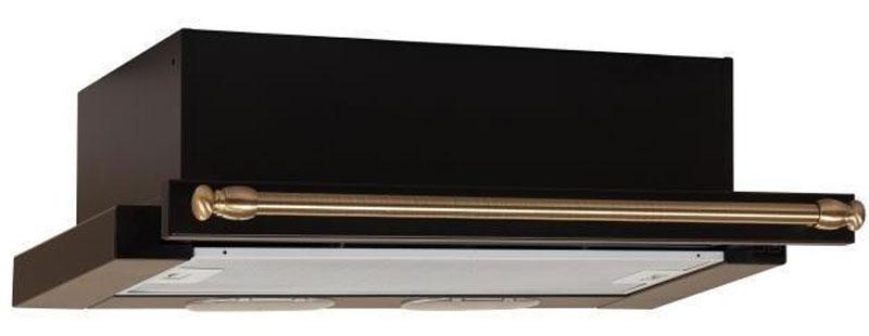 Elikor Интегра 60П-400-В2Л, Antracite Bronze встраиваемая вытяжка841038_антрацит, рейлинг бронзаElikor Интегра 60П-400-В2Л - экономичное решение, которое подойдет для любой кухни. Выдвижная панель вытяжки позволяет значительно увеличить зону всасывания над рабочей поверхностью, тем самым, повышая эффективность удаления загрязнённого воздуха. Интегра без труда монтируется в подвесной кухонный шкаф над плитой, что позволяет сохранить больше свободного пространства на кухне, что так важно для любой хозяйки. Отличительной особенностью прибора является применение новой турбины, созданной в лаборатории итальянской группы BEST. Эта разработка позволила значительно снизить шум и уровень потребления электроэнергии, по сравнению с двухмоторными версиями подобных устройств.