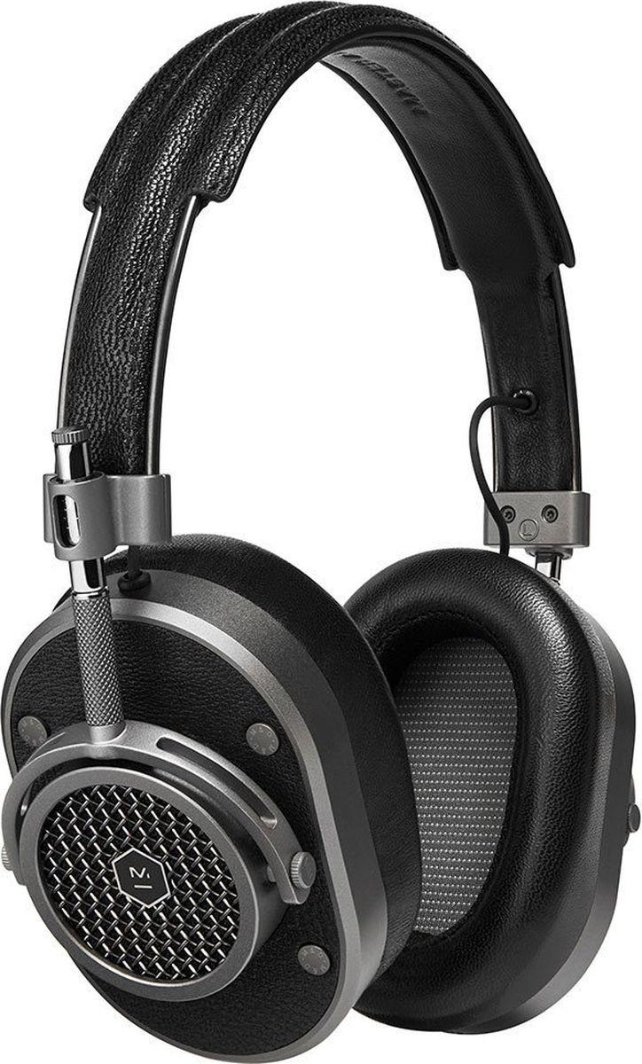 Master & Dynamic MH40G1 наушники15119130Полноразмерные наушники Великолепный звук и отличная шумоизоляция Излучатели на неодимовых магнитах диаметром 45 мм Съемный кабель 3,5 мм с микрофоном и пультом Переходник на 6,3 мм в комплекте Импеданс 32 Ом Вес 360 г Сменные амбушюры разных цветов из запоминающего форму материала Нержавеющая сталь, алюминий, два вида кожи и плетеный кабель