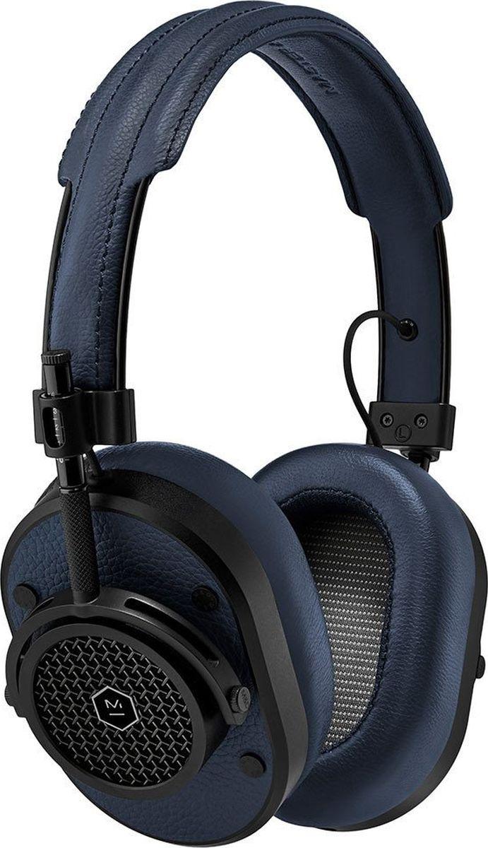 Master & Dynamic MH40B4 наушники15119132Полноразмерные наушники Великолепный звук и отличная шумоизоляция Излучатели на неодимовых магнитах диаметром 45 мм Съемный кабель 3,5 мм с микрофоном и пультом Переходник на 6,3 мм в комплекте Импеданс 32 Ом Вес 360 г Сменные амбушюры разных цветов из запоминающего форму материала Нержавеющая сталь, алюминий, два вида кожи и плетеный кабель