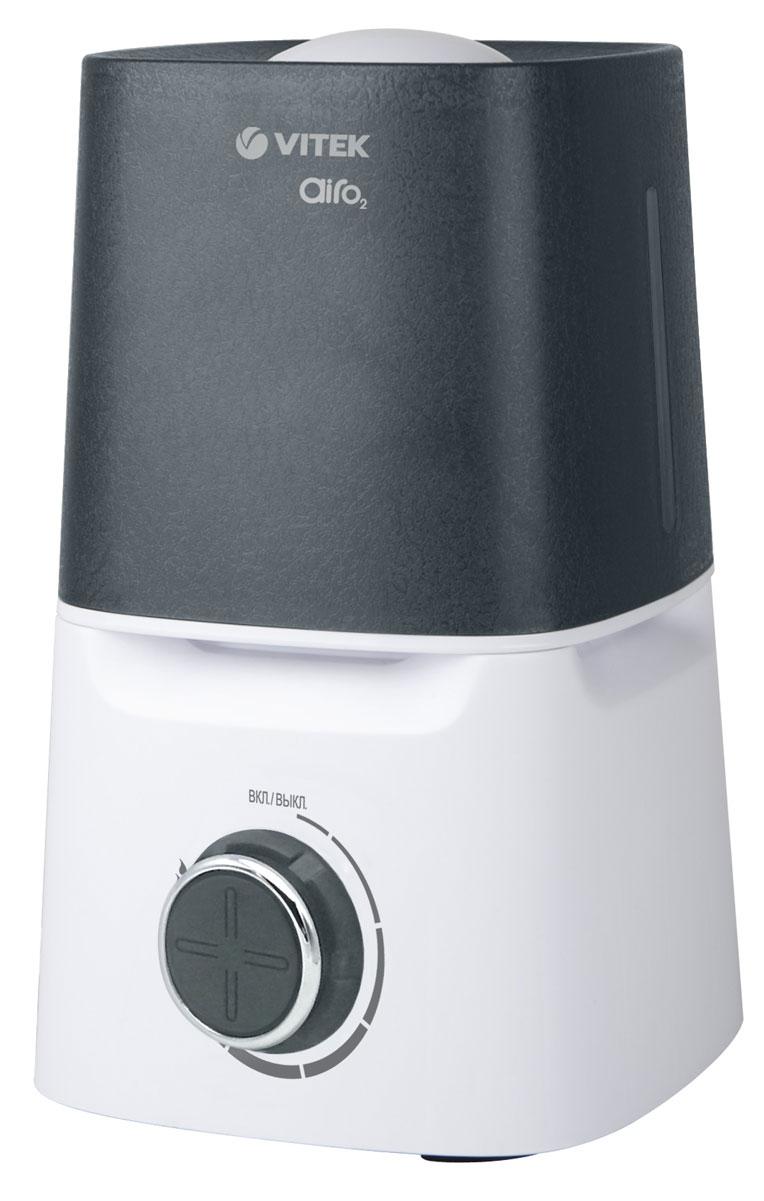 Vitek VT-2334(W) увлажнитель воздухаVT-2334(W)Увлажнитель воздуха Vitek VT-2334(W) Мощ-ть 25 Вт Ультразвук. увлаж-ль Емкость для воды 3,5 л.
