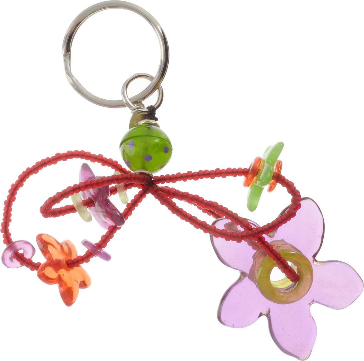 Брелок Lalo Treasures, цвет: сиреневый, зеленый. KR4866KR4866Брелок Lalo Treasures изготовлен из ювелирной смолы ярких цветов. Он оформлен подвесными цветочками и крепится к кольцу с помощью крепкого шнурка. Оригинальный брелок подчеркнет вашу индивидуальность, а также станет отличным подарком для любительниц модных новинок в мире аксессуаров.