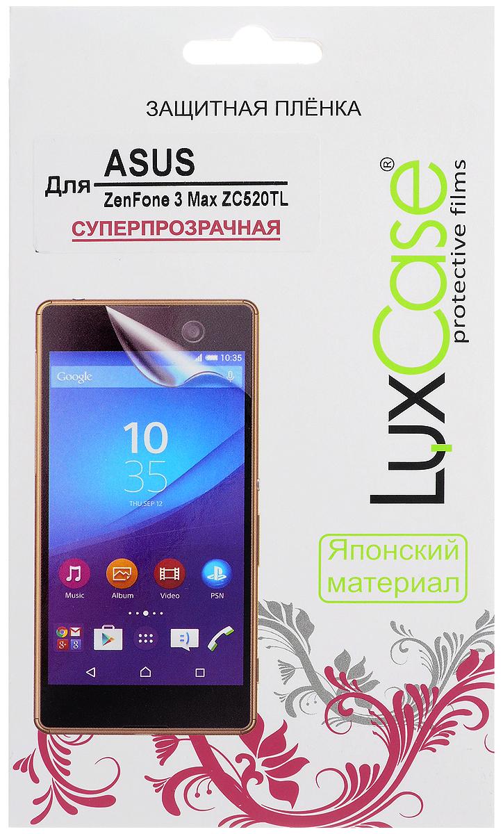 LuxCase защитная пленка для ASUS ZenFone 3 Max ZC520TL, суперпрозрачная55805Защитная пленка LuxCase для ASUS ZenFone 3 Max ZC520TL сохраняет экран смартфона гладким и предотвращает появление на нем царапин и потертостей. Структура пленки позволяет ей плотно удерживаться без помощи клеевых составов и выравнивать поверхность при небольших механических воздействиях. Пленка практически незаметна на экране смартфона и сохраняет все характеристики цветопередачи и чувствительности сенсора.