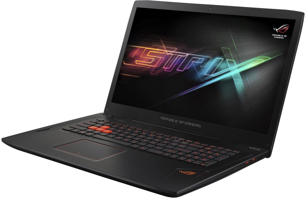 ASUS ROG GL702VM (GL702VM-GC035T)GL702VM-GC035TНоутбук ASUS ROG GL702VM - это мощный процессор Intel и геймерская видеокарта NVIDIA GeForce GTX в компактном и легком корпусе. С этим мобильным компьютером вы сможете играть в любимые игры где угодно. В аппаратную конфигурацию ноутбука ROG GL702VM входит процессор Intel Core i7-6700HQ шестого поколения и дискретная видеокарта NVIDIA GeForce GTX 1060 с поддержкой Microsoft DirectX 12. Мощные компоненты обеспечивают высокую скорость в современных играх и тяжелых приложениях, например при редактировании видео. Видеокарта NVIDIA GeForce GTX 1060 предлагает полную совместимость с современными системами виртуальной реальности и высокую производительность, необходимую для их надлежащей работы. Ноутбук ROG GL702VM - это тонкое (24,7 мм) и довольно легкое (2,7 кг) устройство, учитывая тот факт, что он представляет собой полноценную геймерскую платформу. Он без труда поместится в сумку или рюкзак и позволит своему владельцу окунуться в...