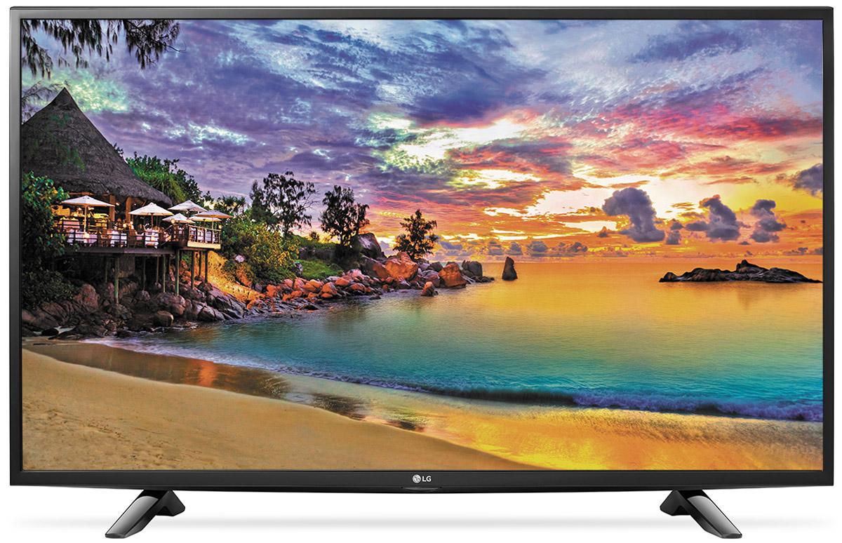 LG 49UH603V телевизор49UH603VСовременный телевизор LG 49UH603 для всей семьи. HDR Pro: Функция HDR Pro позволяет увидеть фильмы с теми яркостью, богатейшей палитрой и точностью цветовых оттенков, с какими они были сняты. Трёхмерная обработка цвета: В новых UHD телевизорах LG используется трёхмерный алгоритм обработки цвета, что позволяет минимизировать искажения и добиться оттенков, максимально приближенных к натуральным. Энергосбережение: Эта функция включает в себя контроль подсветки, который позволяет регулировать яркость экрана в целях экономии электроэнергии. ULTRA Surround: Специальный алгоритм преобразовывает звуковые волны, исходящие из двухканальных динамиков так, что вам будет казаться, что вы слушаете 7-канальный звук. Получите ещё больше удовольствия от просмотра 4К фильмов! webOS 3.0: Обновлённая операционная система LG SMART TV на базе webOS 3.0 создана для того, чтобы доступ к фильмам, сериалам,...