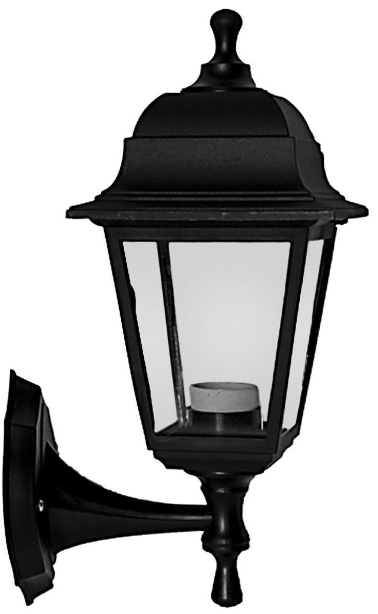 Светильник уличный Duwi Basis, цвет: черный, 380 мм. 24135 524135 5Светильник настенного крепления серии Basis Отличительная особенность - возможность крепления двумя способами: бра вверх и бра вниз. Корпус светильника изготовлен из ударопрочного пластика. Стекло прозрачное без рисунка. Basis - самая экономичная серия светильников - идеальное решение для дачи.
