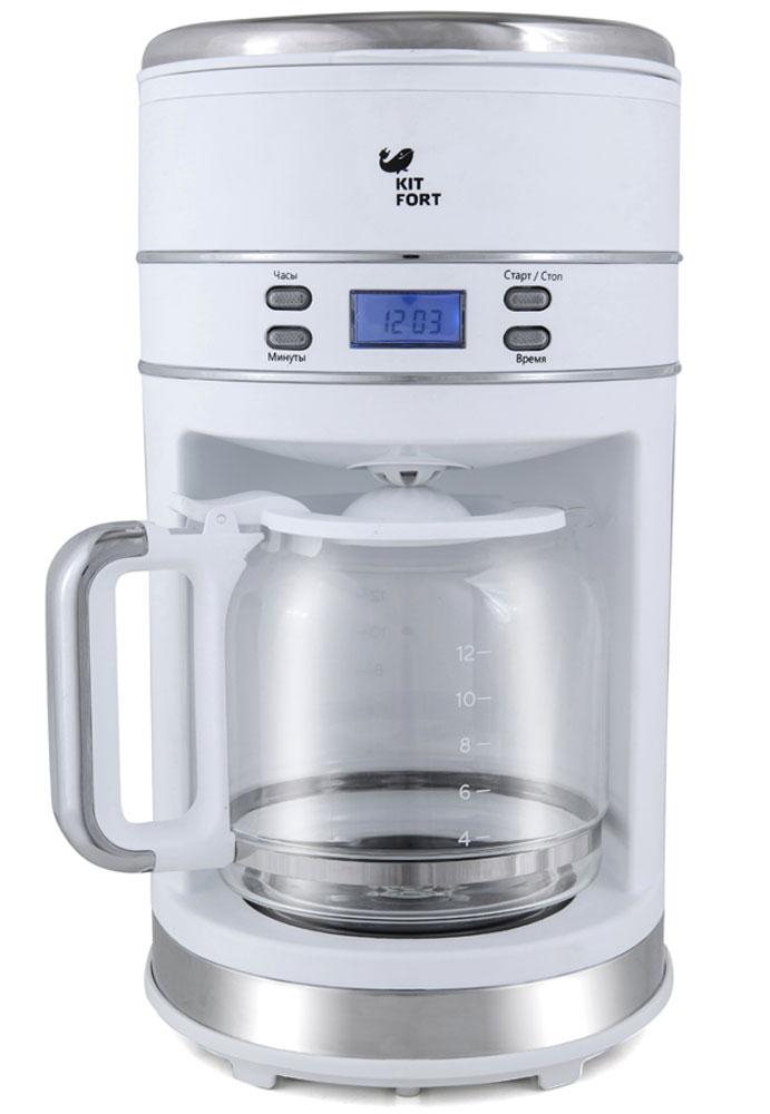 Kitfort КТ-704-1, White кофеварка