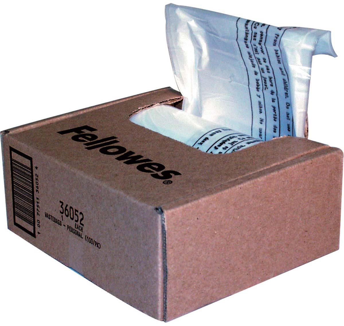 Fellowes мешки для уничтожителей, 23-28 литров (100 шт)