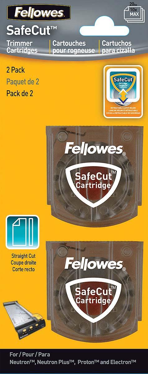 Fellowes FS-54114 нож для резаков Neutron, Proton, Electron (прямая резка) (2 шт)