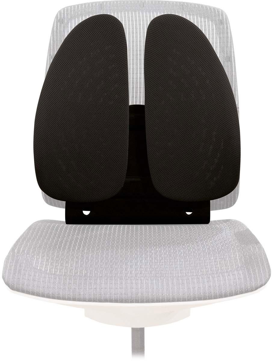 Fellowes Back Angel поддерживающая подушка для спиныFS-80264Регулируемая поддерживающая подушка для офисного кресла Back Angel, артикул FS-80264, имеет необычную форму в виде поддерживающих крыльев, которые обеспечивает постоянную поддержку поясницы и позвоночника. Пружинный механизм основания подушки позволяет мгновенно адаптироваться к движениям пользователя. Благодаря возможности регулировки расположения подушки в 7 положениях (от 14 см до 23 см) Вы сможете обеспечить себе непревзойденный комфорт. Подушка легко и надежно крепится к офисному стулу, сетчатое основание обеспечивает свободную циркуляцию воздуха. Современный дизайн подойдет к любому рабочему месту. Размер подушки: В440 х Ш380 х Г140 мм.