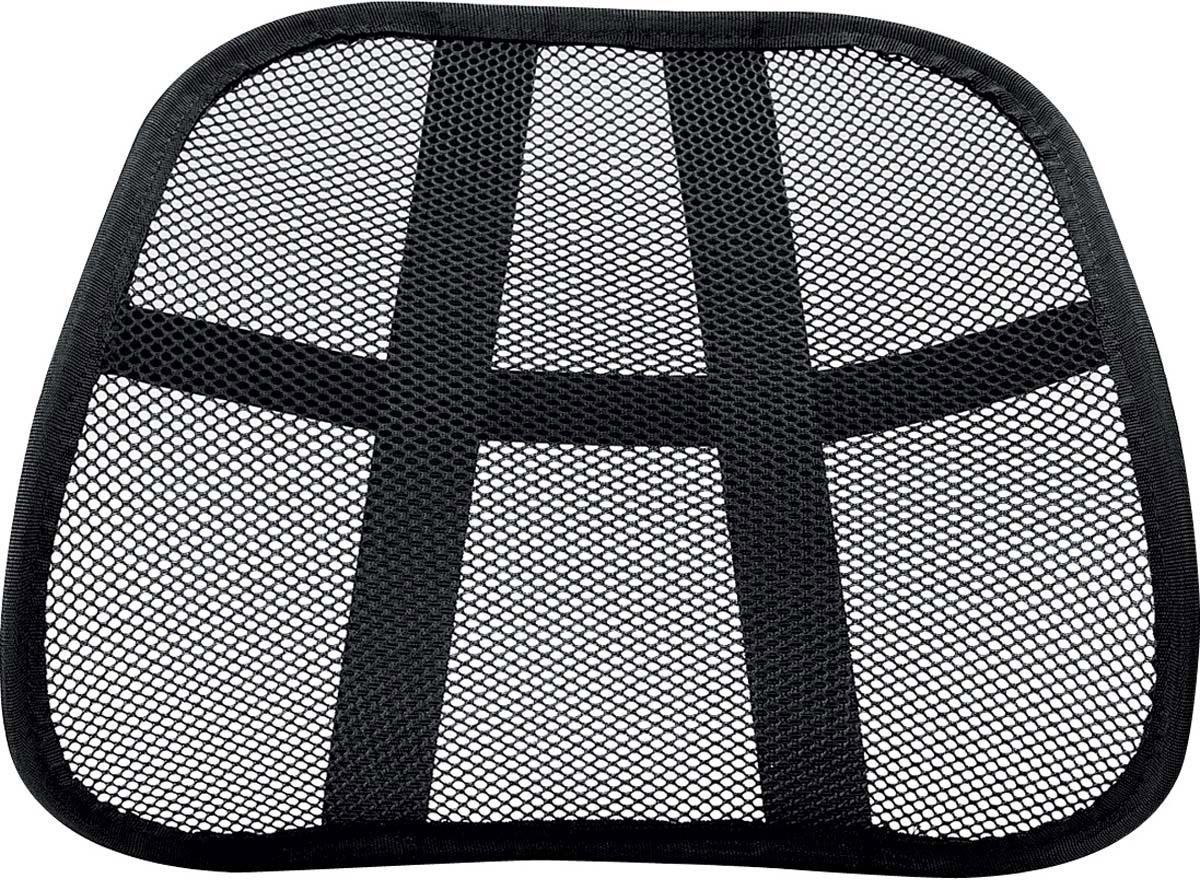 Fellowes Mesh поддерживающая подушкаFS-80365Поддерживающая подушка MESH для офисного кресла FS-80365 обеспечивает комфортное положение спины и снижает напряжение поясничных мышц. Сетчатая структура подушки создает вентилируемое пространство между спиной и креслом. Легко крепится к любому офисному креслу.