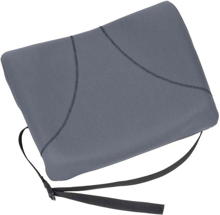 Fellowes Slimline подушка для креслаFS-91909Поддерживающая подушка Slimline (серая) для офисного кресла FS-91909 обеспечивает комфортное положение спины и снижает напряжение во время работы. Легко крепится к любому офисному креслу. Легко очищается. Гибкость настроек для любого пользователя.
