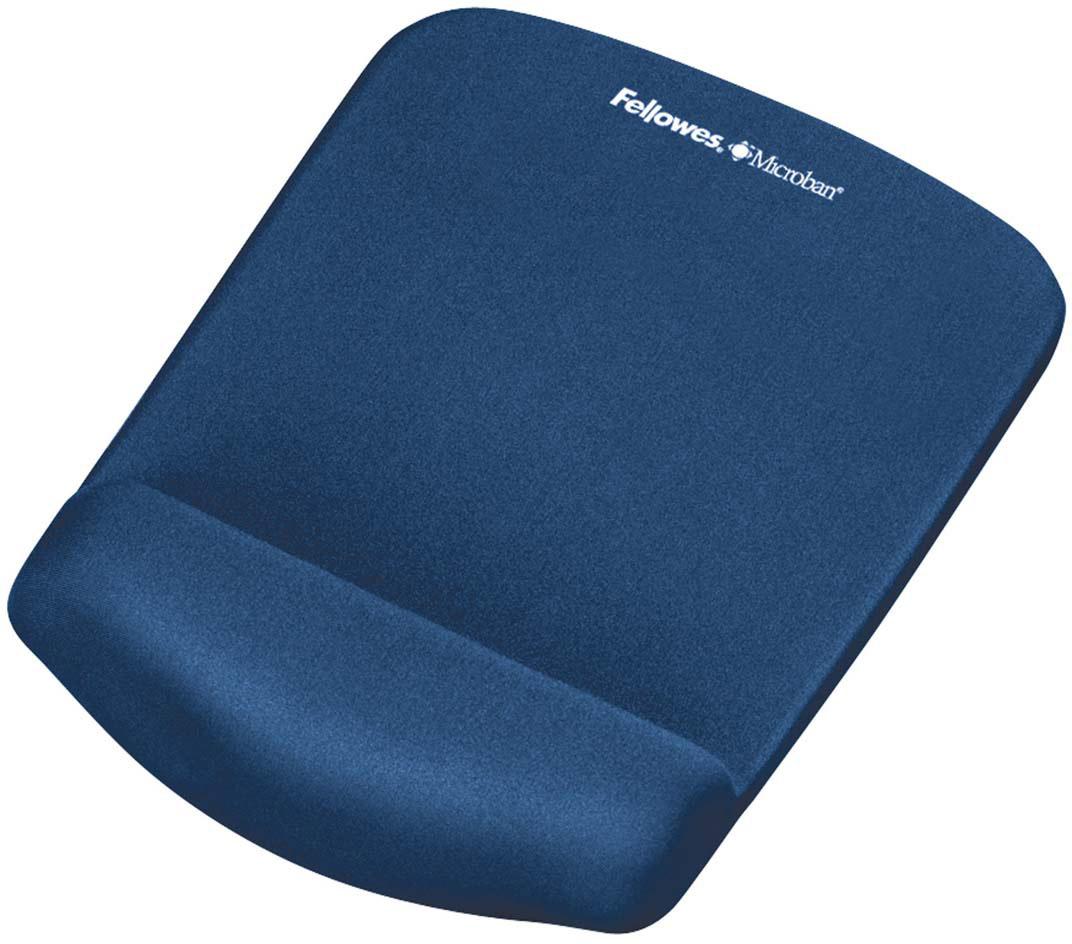 Fellowes PlushTouch, Blue коврик для мышиFS-92873Основные свойства: Подходит для всех видов компьютерных мышей. Благодаря стильному дизайну и цветовым решениям, коврики станут украшением Вашего рабочего места. Размеры коврика(ВхШхГ) мм.: 25х184х238 Инновационная технология FoamFusion – мягкое пенное основание повторяет контуры запястья и запоминает их, обеспечивая максимальный комфорт при работе. Антибактериальное покрытие Microban – подавляет развитие болезнетворных микроорганизмов на поверхности коврика.