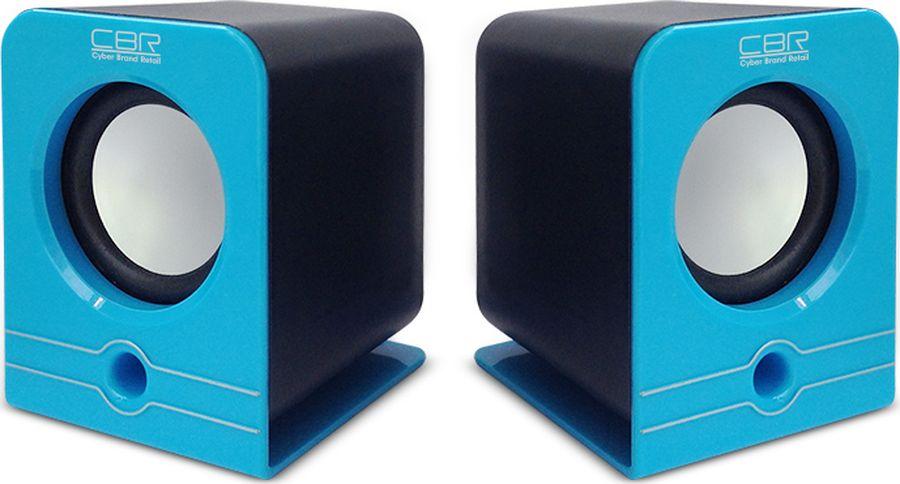 CBR CMS 303, Blue акустическая системаCMS 303 BlueВыходная мощность RMS - 6 Вт (2 х 3) Диаметр динамиков - 3,2 см Частотный диапазон - 90-20000 Гц Отношение сигнал/шум - 60 дБ Материал корпуса - ABS-пластик Источник питания - USB-порт Интерфейс соединения - проводное 3,5 мм Регулятор громкости -Есть