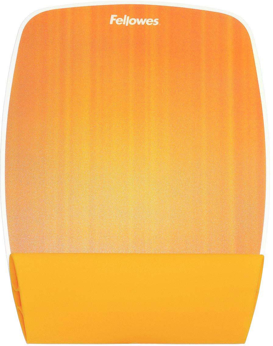Fellowes FS-93624 Апельсин коврик для мышиFS-93624Основные свойства: Мягкая, приятная на ощупь подкладка поддерживает запястье. Инновационный дизайн и комфорт. Яркие, радужные коврики украсят рабочее место. Легко очищаются. Подходят для оптических и лазерных мышей. Размеры коврика(ВхШхГ) мм.: 22 х 200 х 255.