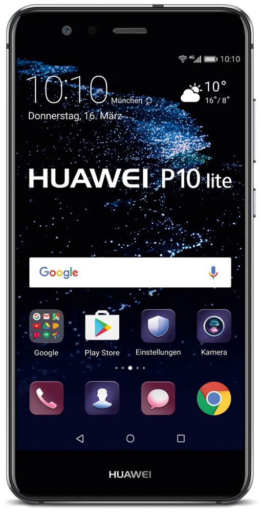 Huawei P10 Lite, Black51091LXLБлагодаря двойному 2.5D стеклу, металлическому корпусу с алмазной обработкой и лаконичной конструкции смартфон Huawei P10 Lite прекрасно выглядит и его приятно держать в руках. Стекло, покрывающее обе панели смартфона, гладкое и приятное на ощупь. Оно имеет седьмой уровень твердости по шкале Мооса, что делает смартфон прочным и устойчивым к царапинам и повреждениям. Водная гладь стала основой сапфирового синего цвета модели, а блестящая пленка толщиной 0,1 мм под задней стеклянной панелью напоминает водную рябь, которая меняется в зависимости от освещения. Благодаря процедуре ЧПУ алюминиево-магниевый корпус стал еще прочнее, красивее и долговечнее. А специальная процедура окисления придает смартфону яркость и предотвращает появление царапин. В результате керамической обработки боковые грани модели обретают рельефную отделку и в то же время гладкую поверхность, поэтому смартфон удобно держать в руках. Смартфон оснащен FHD-дисплеем с...