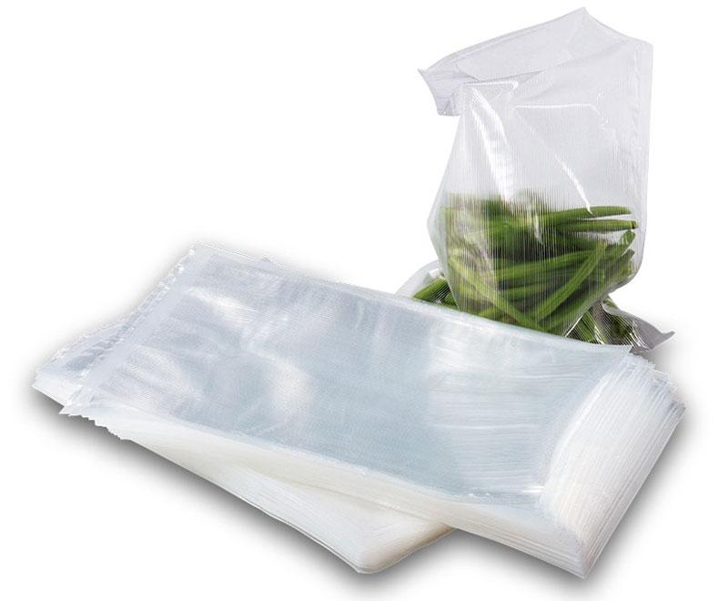 Solis Vac, 30 х 40 см пакеты для вакуумного упаковщика (50 шт)Vac 30*40Комплект из 50 профессиональных пакетов размером 30 x 40 см для вакуумной упаковки. Ребристая внутренняя поверхность предназначена для оптимального вакуумирования. Высокая прочность пакета допускает замораживание, использование в СВЧ печи, а также готовку по технологии Sous-Vide.