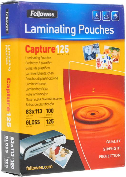 Fellowes A5 FS-53073 пленка для ламинирования, 125 мкм (100 шт)FS-53073Пленка для горячего ламинирования глянцевая, с высоким содержанием полиэстера (50%). Используется для защиты документов от влаги, загрязнения, механических повреждений, придания жесткости и яркости. Обладает высокой прозрачностью.