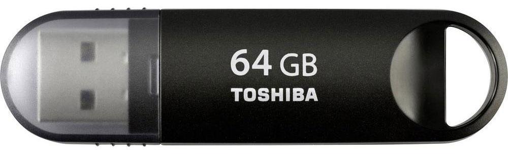 Toshiba Suzaku 64GB, Black флеш-накопительTHN-U361K0640M4Переносите видео и другие файлы большого объема с помощью флеш-накопителей Toshiba Suzaku, совместимых со сверхскоростным стандартом USB 3.0. Новая серия позволяет передавать данные в два раза быстрее, чем USB 2.0! Серия поддерживает программное обеспечение, позволяющее установить пароль на отдельный блок памяти для защиты данных и файлов, которые в нем хранятся. Накопители можно также устанавливать в устройства с портами USB 2.0.
