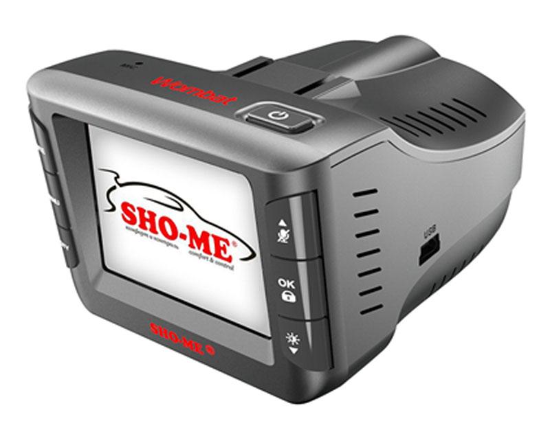 Sho-Me Combo Wombat видеорегистратор с радар-детекторомCOMBO WOMBATВидеорегистратор с радар-детектором Sho-Me Combo Wombat - уникальная комбинация самых важных для автомобилиста функций – запись происходящего на видео в высоком качестве (Super HD) и оповещение о сигналах полицейских радаров, принятых антенной и/или определяемых с помощью GPS/ГЛОНАСС. Определение радарных сигналов во всех актуальных диапазонах – Х, К, Ка и сигналов лазерных измерителей (включая ЛИСД и Амата), а также сигналов комплекса Стрелка (более 1 км), Робот, Места и пр. Определение силы сигнала, в том числе сила сигнала Стрелки Режимы Город/Трасса для уменьшения ложных срабатываний Различные скоростные фильтры для максимально комфортной эксплуатации устройства Автоматическое приглушение громкости Регулировка яркости дисплея Возможность отключения диапазонов пользователем Голосовое оповещение Обновление базы данных камер и радаров, а также программного обеспечения