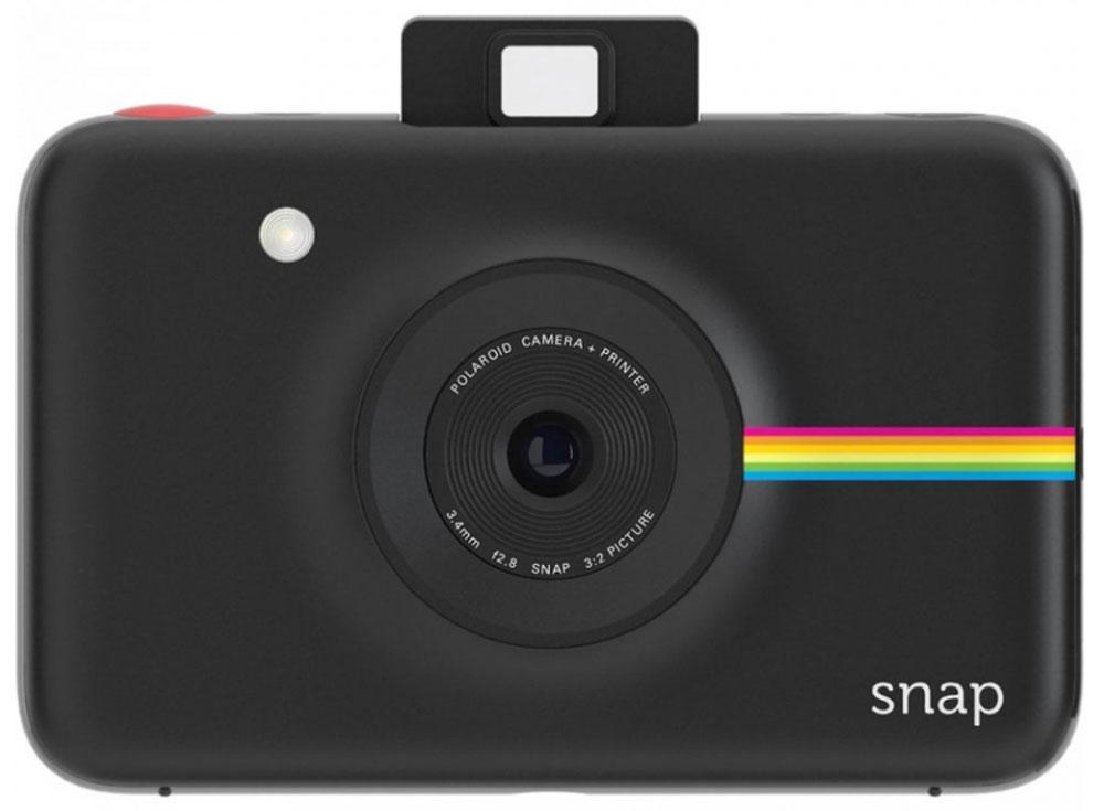 Polaroid Snap, Black фотокамера мгновенной печати POLSP01BE