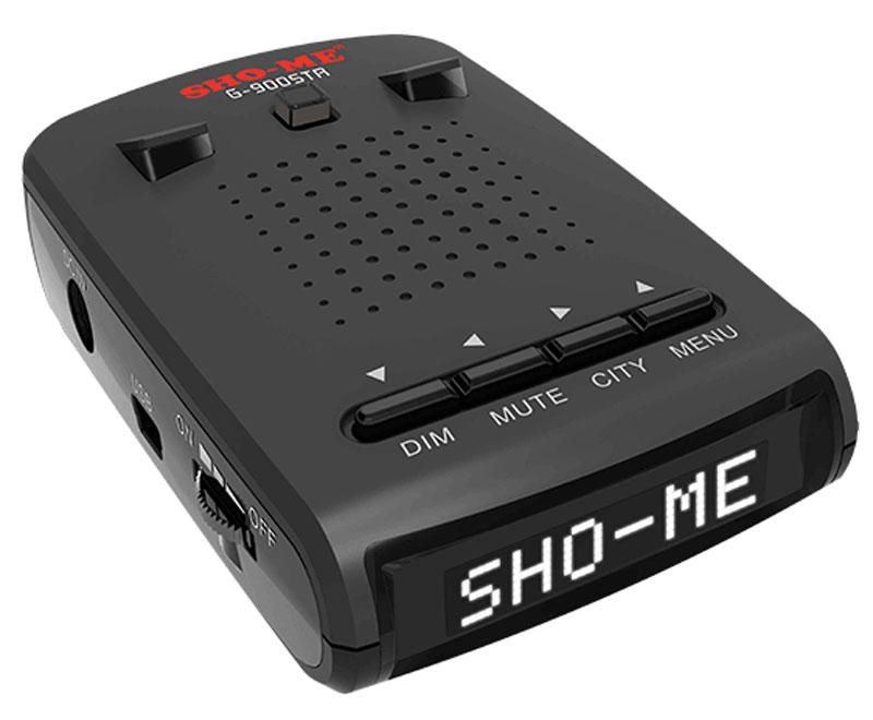 Sho-Me G-900 STR радар-детектор (белая подсветка экрана) G-900 STR WHITE