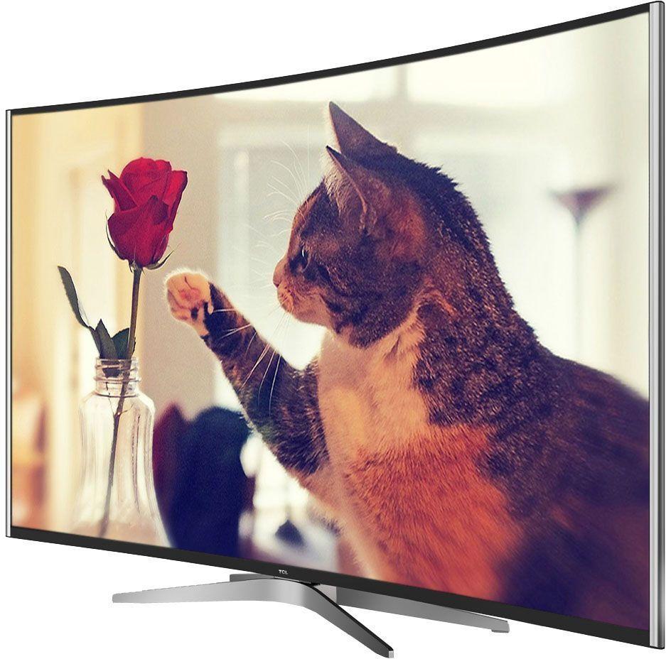 TCL L55C1CUS, Black телевизорL55C1CUS