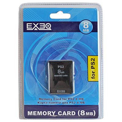 Карта памяти для PlayStation 2 EXEQ 8 Мб