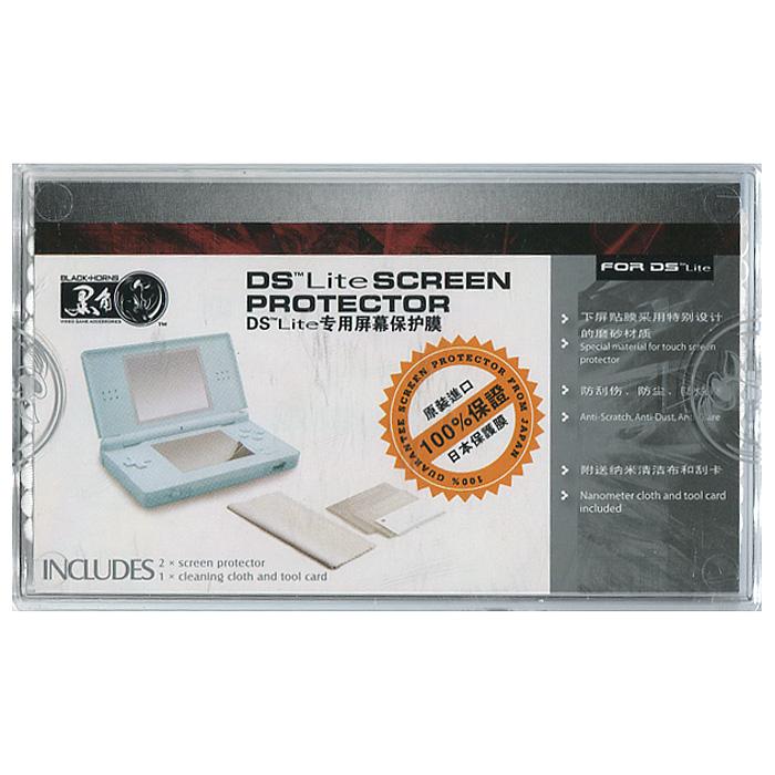 Пленки для экранов Nintendo DS Lite