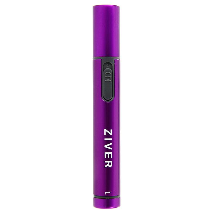 """Триммер """"Ziver"""" для стрижки волос в носу и ушах, цвет: фиолетовый"""