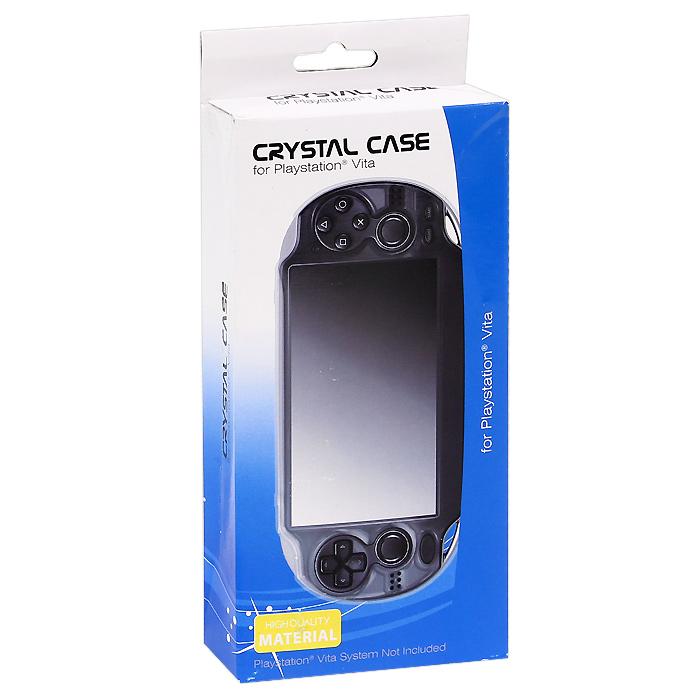 """Защитный пластиковый чехол """"Crystal Case"""" для PS Vita (прозрачный)"""
