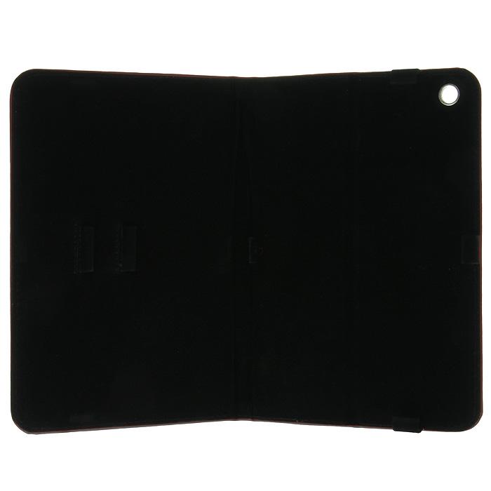 Vivacase Stripes кожаный чехол-обложка для iPad Mini, Black