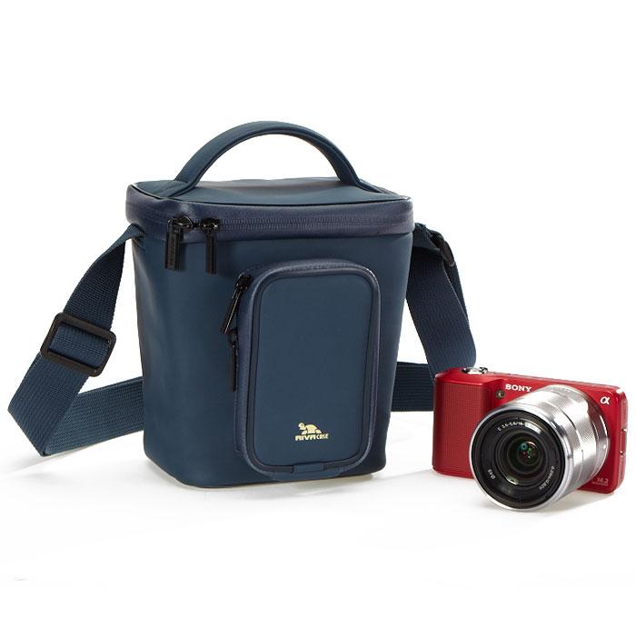Riva 1800 (LRPU) Antishock Digital Case, Dark Blue сумка для фотокамеры ( 6379 )