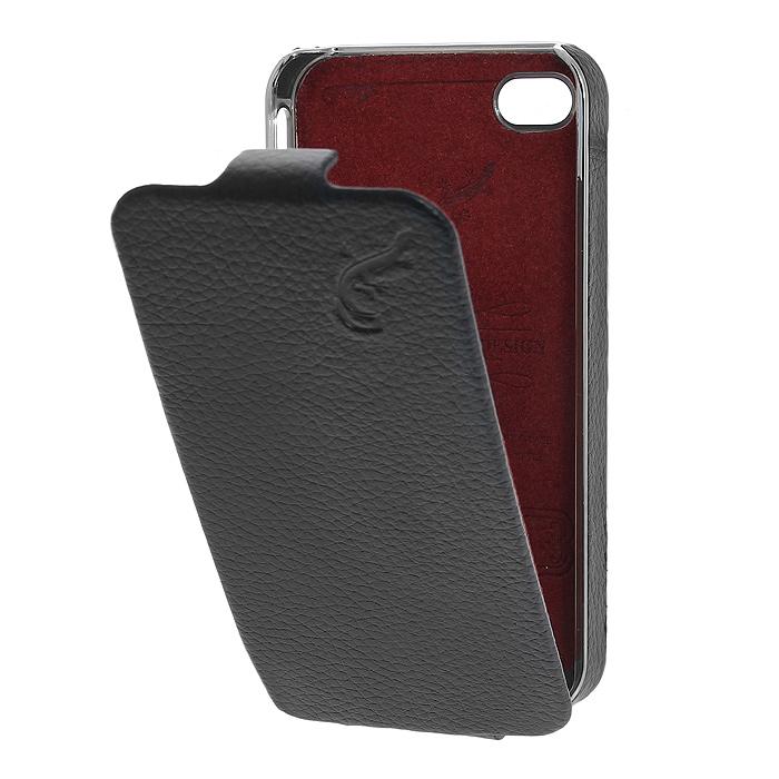 G-case Cover чехол для iPhone 4/4s, Black