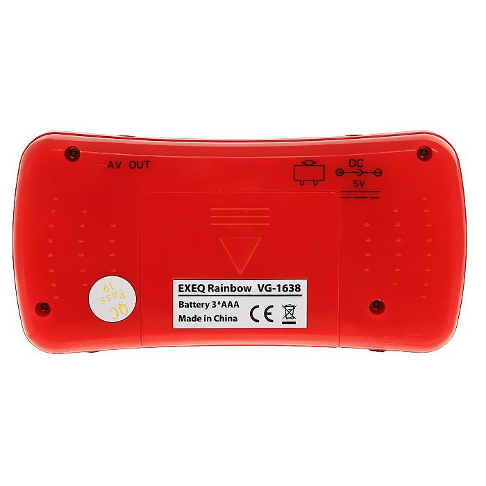 Портативная игровая консоль EXEQ Rainbow (красная) ( VG-1638 )