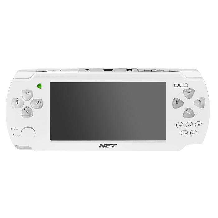 Портативная игровая консоль EXEQ NET (белая) ( MP-1020 )