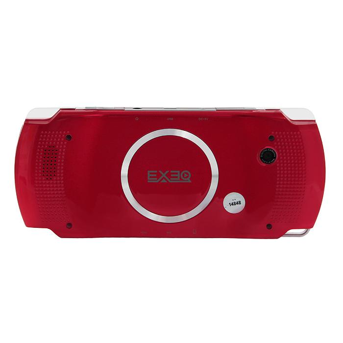 Портативная игровая консоль EXEQ NET (красная) ( MP-1020 )