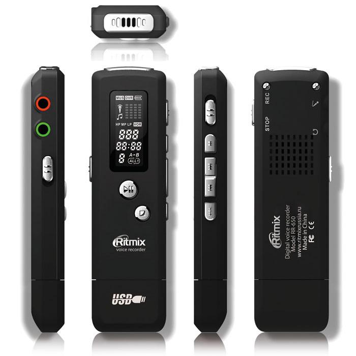 Ritmix RR-650 4GB диктофон