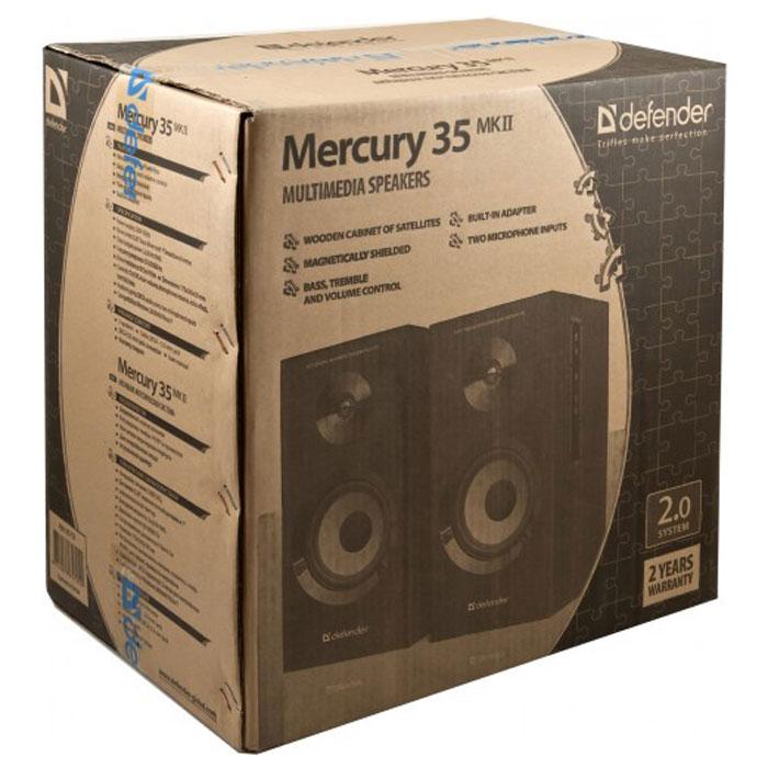 Defender Mercury 35 MKII акустическая система 2.0 ( Mercury 35 MKII )