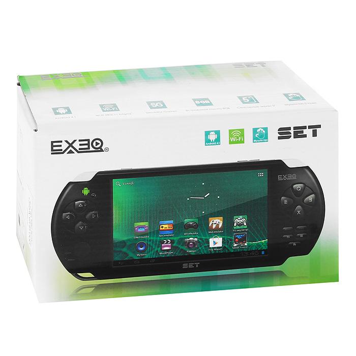 Портативная игровая консоль EXEQ SET (белая)