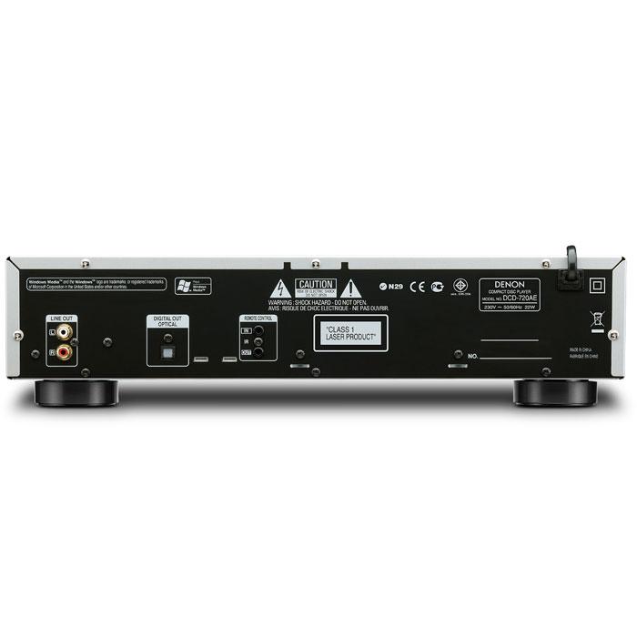 Denon DCD-720AE, Black CD проигрыватель
